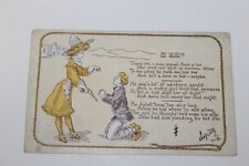 "VINTAGE EARLY  ""MY WORD""  WESTERN THEME POSTCARD"