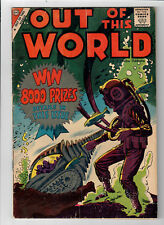 OUT OF THIS WORLD #12 - Grade 6.0 - Steve Ditko cover & interior art!