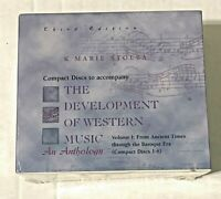 The Development of Western Music Volume I: From Ancient Times Baroque Era NEW