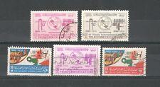 R1874 - LIBIA 1965 - SERIE COMPLETA USATA TEMATICHE N°267/71 - VEDI FOTO