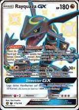 Pokemon Karte -  Rayquaza GX 177a/168 Shiny, Boosterfrisch - Deutsch