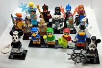 71024 LEGO Disney Minifigures Series 2 Brand NEW SEALED - CHOOSE ONE