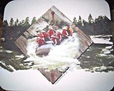 RIVER RAFTING Mouse Pad White Water Outdoors Wilderness Adventure Friends Family