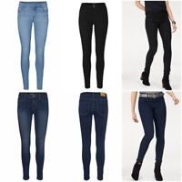 Ex Vero Moda Women's 'Seven' Slim Fit 5 Pocket Denim Jeans RRP £30 Size 6 - 16