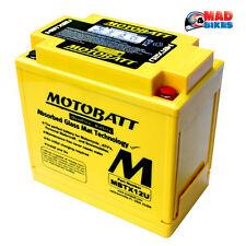 Nuevo MOTOBATT MBTX12U AGM Batería De La Motocicleta Reemplazo de actualización para YTX14-BS