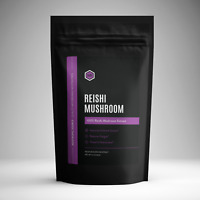 Reishi Mushroom Powder (60g) High Quality Organic Extract - Nootropic Source