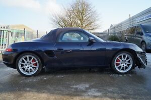 Breaking Porsche 986 Boxster S 3.2S Facelift M96.24. All parts available