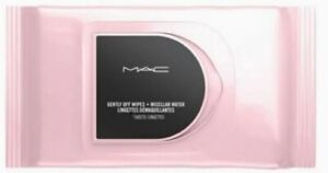 New MAC Gentle Off Wipes + Micellar Water - 80 Sheets - Factory Sealed
