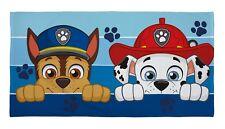 Extra Large Paw Patrol Serviette Bain Plage Enfants Garçons Bleu Vacances Cadeau