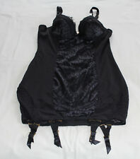 Dita Von Teese Ladies Sophisticat Black Corset Basque Size 12B 34B New Y32950