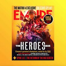 Empire July 2020 The Heroes Issue Matrix 4 Spike Lee New & Unread Magazine