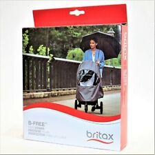 Britax B-Free Stroller Wind and Rain Cover Easy Install Air Ventilation Storage