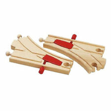 BRIO 33344 Mechanical Switches Track for Wooden Train Set