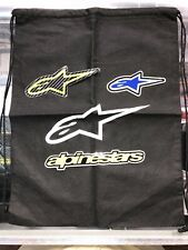 Alpinestars String Bag Black With Three Stickers Free Tracked Shipping