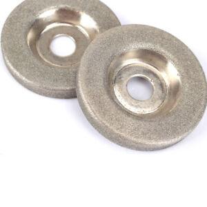 2Pc 50mm Diamond Grinding Wheel Grinder Sharpener Stone Cutting Disc Rotary Tool