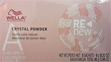 Wella Color ReNew Crystal Powder 5 sachets 0.31 oz / 9 g each vitamin C citric