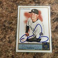 Carlos Gonzalez Signed 2011 Topps Allen & Ginter Auto Colorado Rockies Cubs