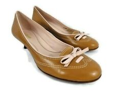COLE HAAN Womens Pumps Heeled Mary Jane Style Tan Beige Leather Size 9B 202896
