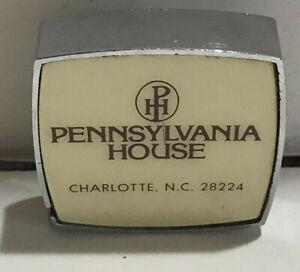 Vintage Barlow Advertising 4 Ft Tape Measure Pennsylvania House Charlotte, NC