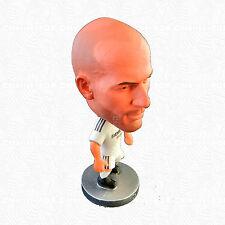 Zinedine Zidane Figurine Toys Collection Real Madrid Shirt On Player