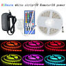 5M 5050 RGB 300 LED Strip Lights RGBW/WW Flexible Light+Remote+12V Power Supply