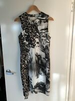 Stunning! VERSACE Authentic Dress, As New, Sz 46( M-L) RRP$1285