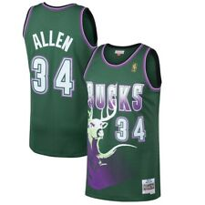 d49ae9e05 Ray Allen Milwaukee Bucks Mitchell   Ness Swingman Jersey M