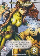 ROGUE Upper Deck Marvel Legendary SP STEAL ABILITIES