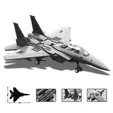 Military Series F-15 Eagle Fighter Building Blocks Bricks Model Army J15 J29 V22
