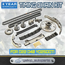 Complete Timing Chain Kit for Nissan Navara D22 D40 2.5L TD YD25DDTi 2006-2015