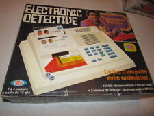 Electronic Detective Ideal 1979 FRENCH EDITION COMPLETE WORKS FINE FRANCE