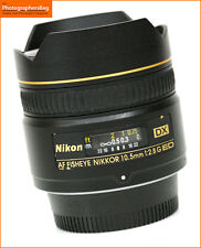 Nikon 10.5mm F2.8G Fisheye Lens  - Nikon Fit + Free UK Postage