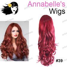 Annabelle's Parrucche Volume Booster Capelli Pezzo con alta CORONA ONDULATA #39 Rosso Ciliegia