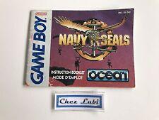 Notice - Navy Seals - Nintendo Game Boy - PAL FAH
