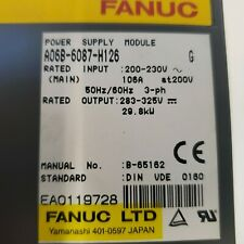 Fanuc A06B-6087-H126 ALPHA POWER SUPPLY MODULE PSM-26 for CNC