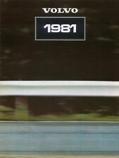 Volvo Range 343 345 244 245 264 265 1980-81 Original UK Brochure No. ASP/PV 8585