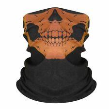 1PC  #05 Skull Motorcycle Cycling Head Scarf Neck Warmer Face Mask Ski Headband