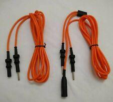 New Laparoscopic Bipolar And Monopolar Cable Autoclavable Instruments Set 2pc
