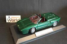 Bburago built transkit Ferrari 288 GTO Cabriolet 1:18 green metallic (PJBB)
