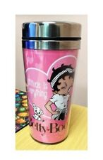 "Betty Boop Collectible ""Attitude Is Everything"" Thermos Travel Mug Licensed New"
