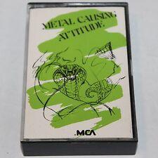 Metal Causing Attitude Cassette Tape '89 MCA Promo Comp Voivod Pretty Boy Floyd