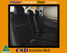 Seat Cover Holden Colorado Heavy Duty Neoprene REAR Standard Design