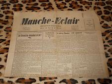 Journal MANCHE-ECLAIR, éd. du Sud de la Manche - n° 51, 21/12/1946