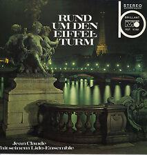 LP Jean Claude con il suo Lido-Ensemble-intorno la Torre Eiffel