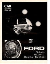 1963 FORD GALAXIE 500 289/195 HP ~ ORIGINAL 6-PAGE ROAD TEST / ARTICLE / AD