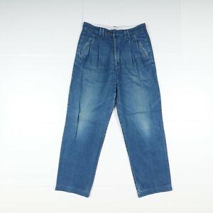 Jeans Valentino Usato (Cod.Y2349) W33 L Vita Alta Uomo Denim Made in Italia