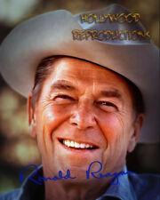 REPRINT - RONALD REAGAN ~ Autographed signed photo 8x10