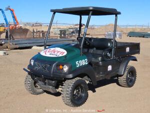 2014 Club Car XRT1550 IntelliTrak 4x4 Equipment Cart UTV ATV Dump bidadoo