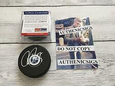 Rasmus Ristolainen Signed Buffalo Sabres Hockey Puck PSA DNA COA PROOF a