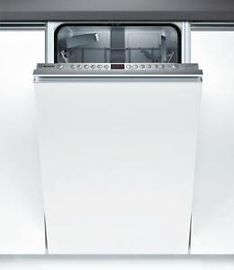 Bosch Serie 6 SPV46ID00D Geschirrspüler (44,8cm breit, Einbau, 44 dB, AquaStop)